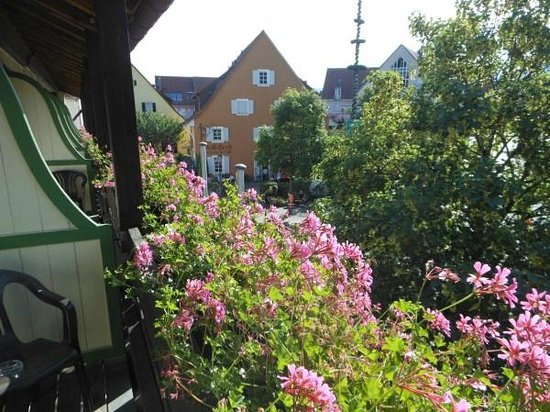 Hotel & Restaurant Sonne : Balcony