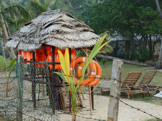 Carnoustie Ayurveda & Wellness Resort: life jackets....beach well equipped