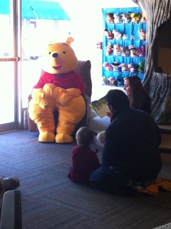 Louisiana Children's Discovery Center : Winnie the Pooh visited the LCDC
