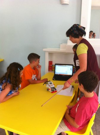 Louisiana Children's Discovery Center : Training young Lego League members