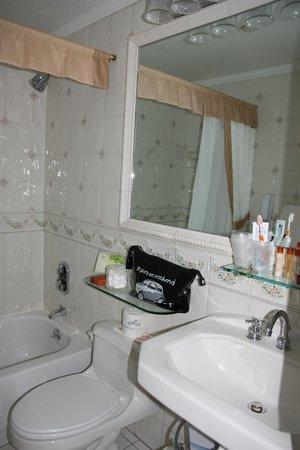 Excelsior Hotel : salle de bains petite