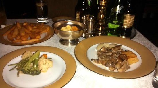 The London Grill : Our starters