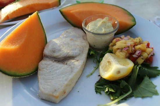 Fager's Island Restaurant & Bar : Grilled swordfish