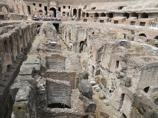 Miles & Miles Tour Company - Tours: Underground at the Colisseum