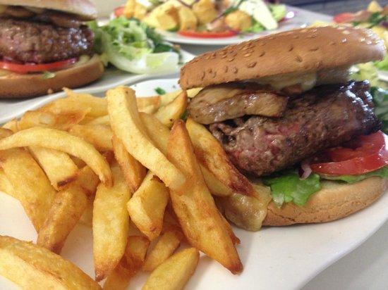 le bistrot gourmand : le burger au foie gras