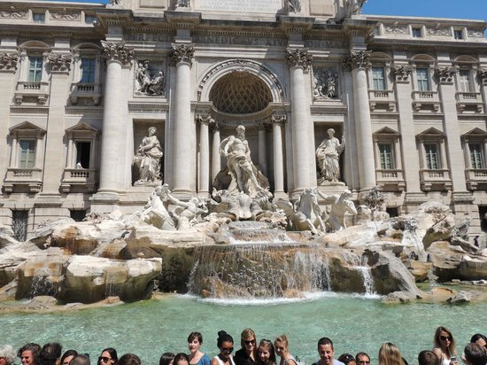 Miles & Miles Tour Company - Tours: Trevi Fountain - Threw in a Coin - Plan to Return!