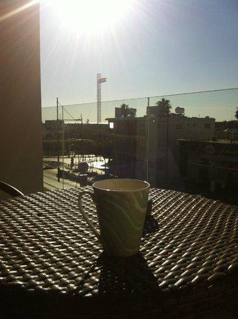 Napian Suites: Балкон