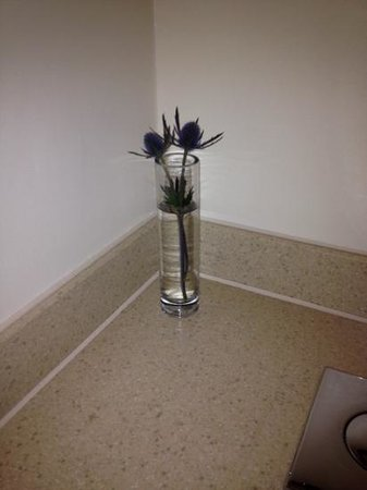 Macdonald Manchester Hotel & Spa: fresh sea holly, nice little touch in the bathroom