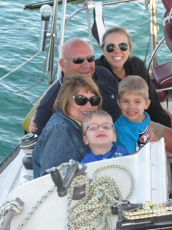 Anna Maria Sailing Adventures: family shot