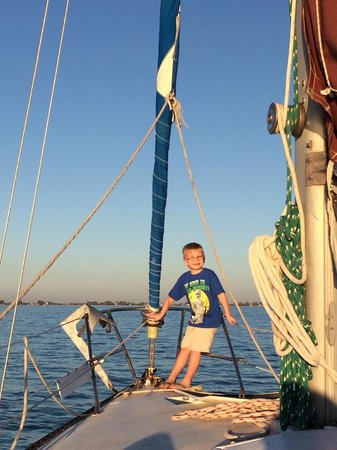 Anna Maria Sailing Adventures: kids all smiles