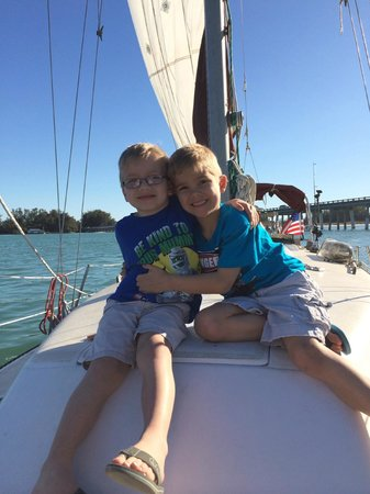 Anna Maria Sailing Adventures: happy boys