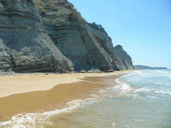 Hotel Olga: The gorgeous beach - worth the walk!