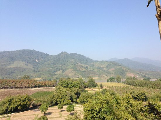 Rai Saeng Arun : View from the room