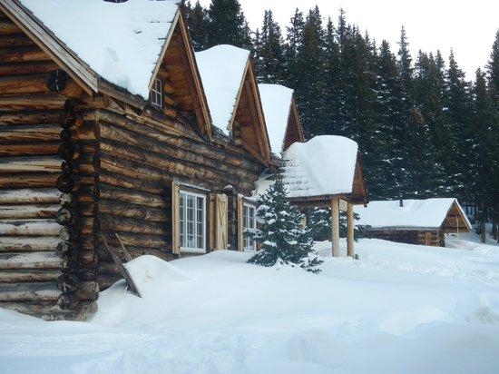 Skoki Lodge in the winter