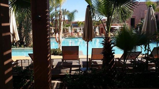 Hotel Du Golf: vue de la chambre