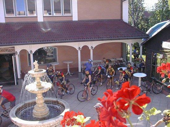 Hotel Marko: Hotelhof