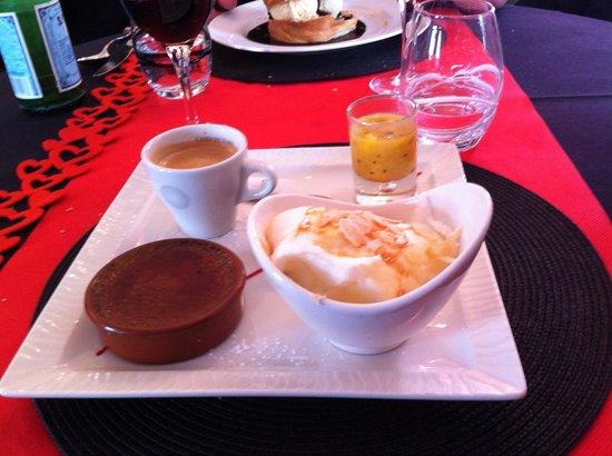 La Villa : Cafe gourmand