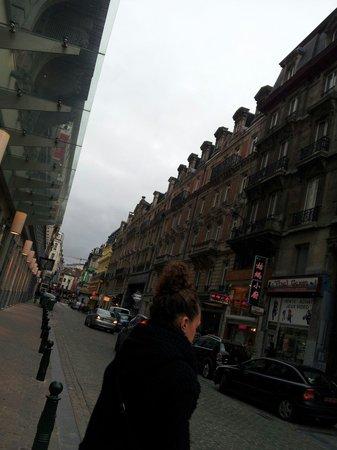 Novotel Brussels Centre: ホテル付近です。