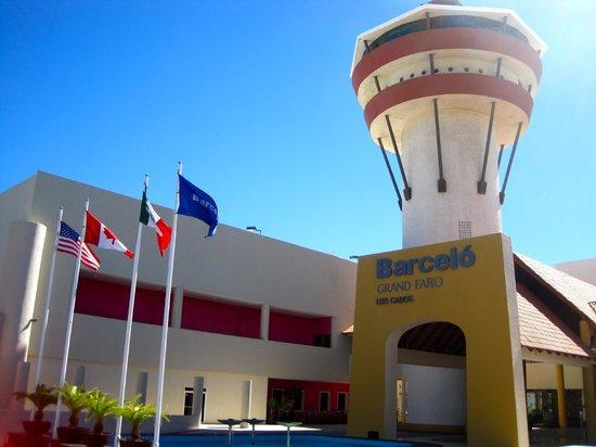 Barcelo Grand Faro Los Cabos: The tower.