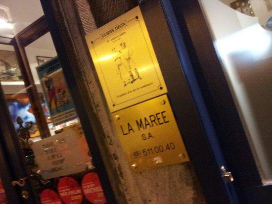 Novotel Brussels Centre: LA MAREE 、ここでムール貝食べて欲しい。