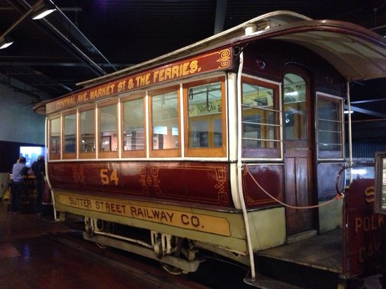 Cable Car Museum: Inside the museum