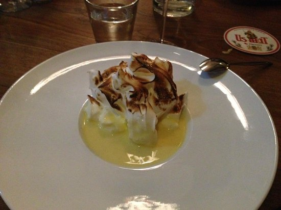 Hotel Weidumerhout: The amazing dessert!