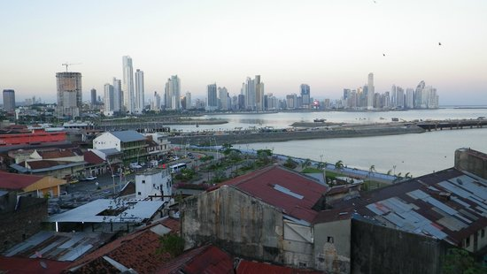 Las Clementinas Hotel: Panama City from the roof-top