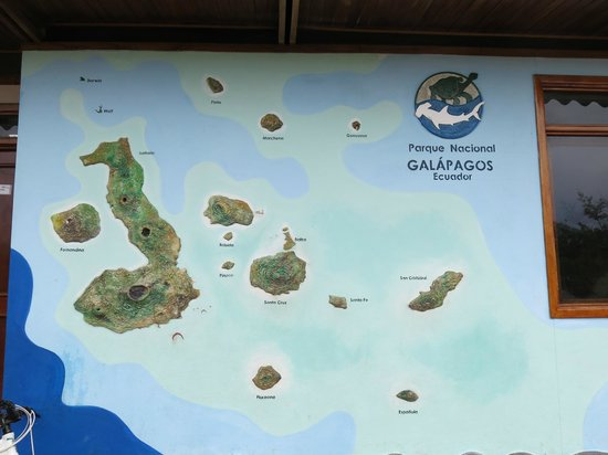 Charles Darwin Research Station : Map