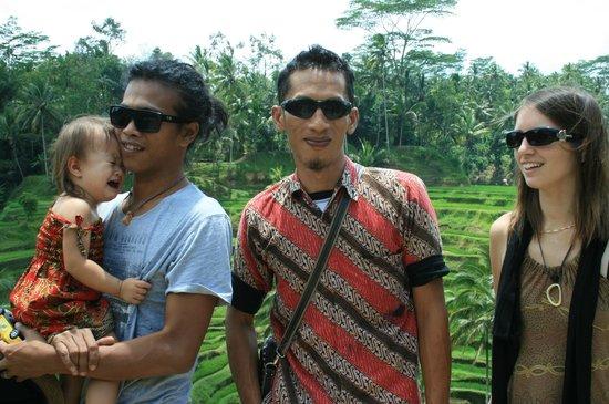 Bali Must Be Crazy: Avec wayan, rizieres pres d'Ubud