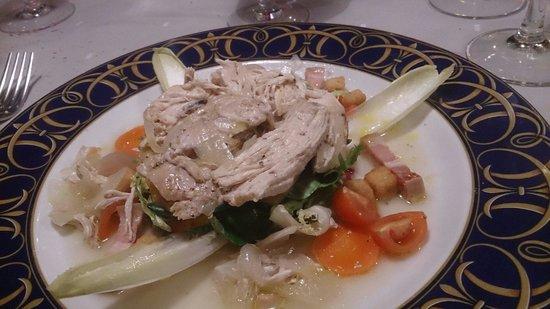 Casa Tous: Ensalada tibia de pollo... La de codorniz escabechada no tiene igual!!!!