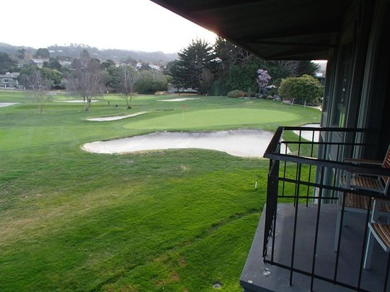 Hyatt Regency Monterey Hotel and Spa on Del Monte Golf Course : View from the room