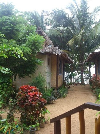Lugadia Beach Cottages: View from cabin