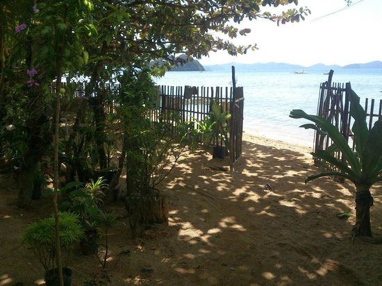 Lugadia Beach Cottages: Right next to a beach