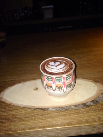 Origo Coffee Shop : X O Art Latte