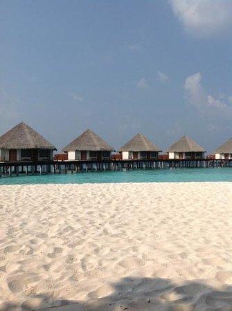 Adaaran Prestige Water Villas: view from the beach
