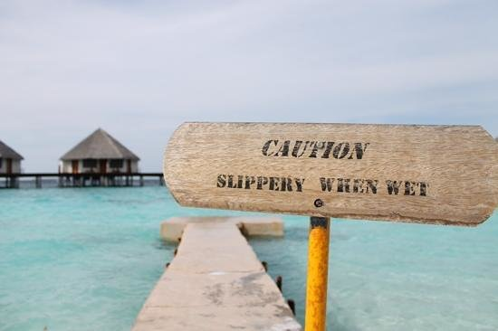 Adaaran Prestige Water Villas: for some reason i just liked this sign