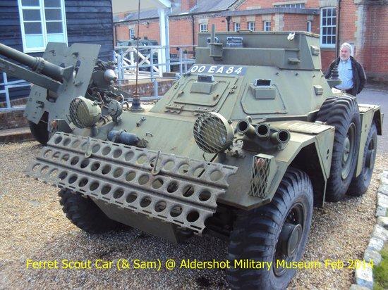 Aldershot Military Museum: Armoured vehicle