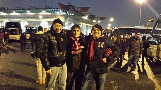 Stadio Giuseppe Meazza (San Siro) : io e mio figlio al Meazza
