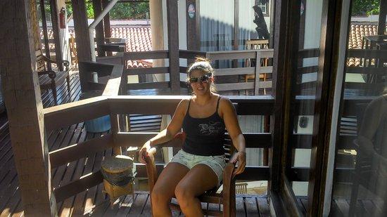 Blue Marlin Hotel: Balcon de la habitacion