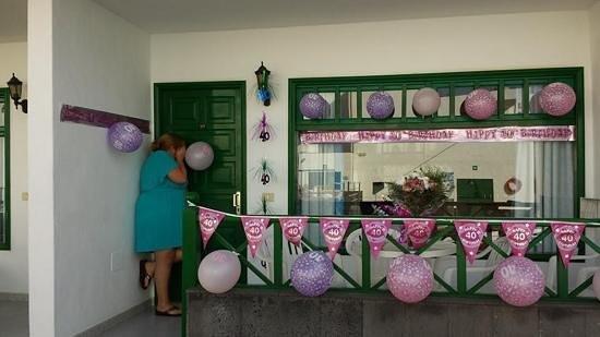Elena Apartments: happy burthday