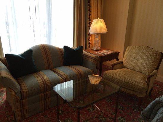 Grand America Hotel: Sitting area