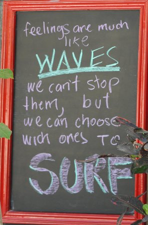 Yah-Yah Sayulita Cafe: Lifes philosophy