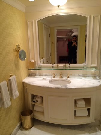 Grand America Hotel : Beautiful vanity/sink
