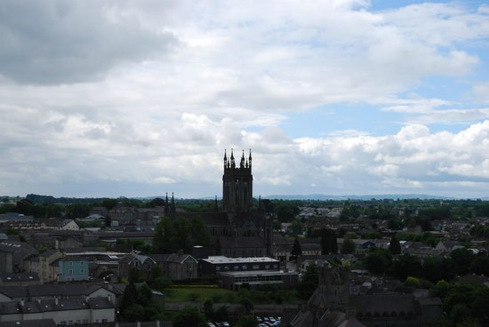 St. Canice's Cathedral & Round Tower : View from the Round Tower