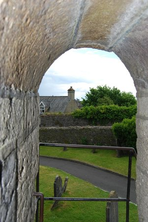 St. Canice's Cathedral & Round Tower : View while climbing the tower