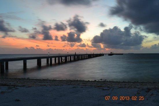 Fun Island Resort: Jetty at 7pm