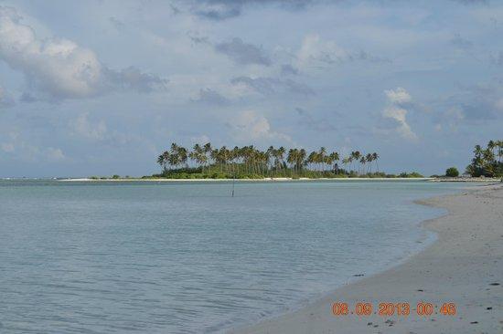 Fun Island Resort: Robinson isand- view from fun island