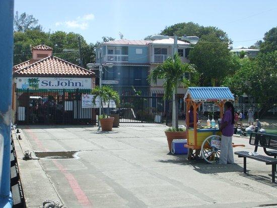 Virgin Islands Ferry - Red Hook: St. John Ferry Dock