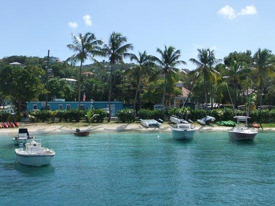 Virgin Islands Ferry - Red Hook: Next to St. John Ferry Dock