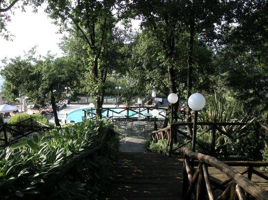 Hotel Prestige Sorrento: parco